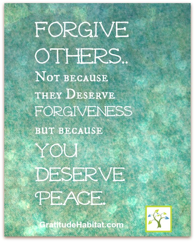 430 Relax And Succeed Forgive Others Not Because They Deserve